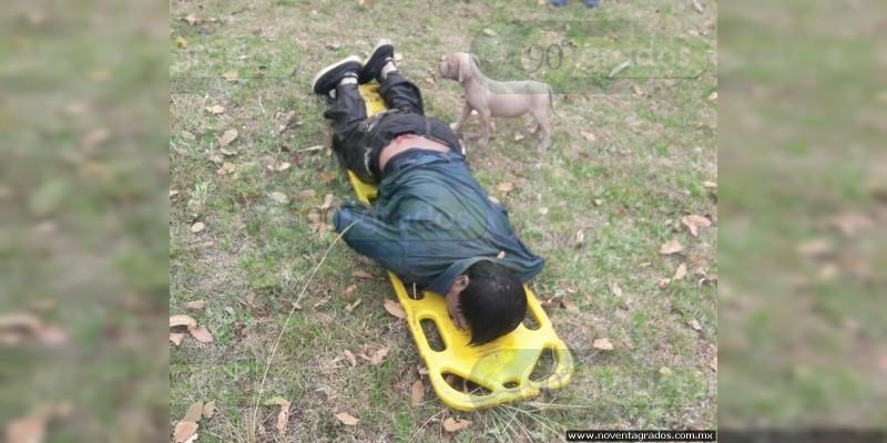 Hallan cuerpo de ahogado en Senguio, Michoacán