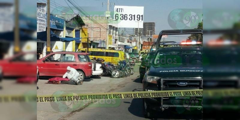 A balazos asesinan a un hombre en Celaya, Guanajuato