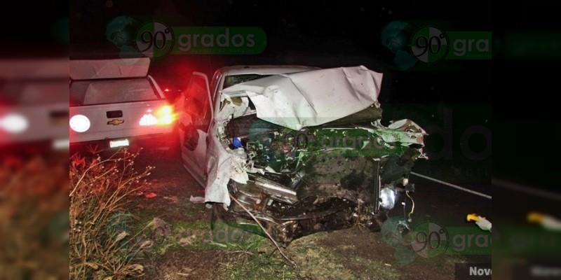 Muere un hombre en accidente vial en Santiago Tangamandapio