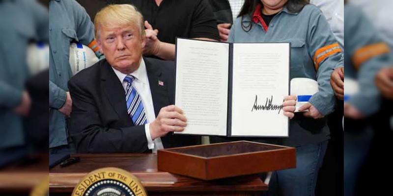 Trump confirma aranceles al acero y el aluminio; México y Canadá estarían exentos
