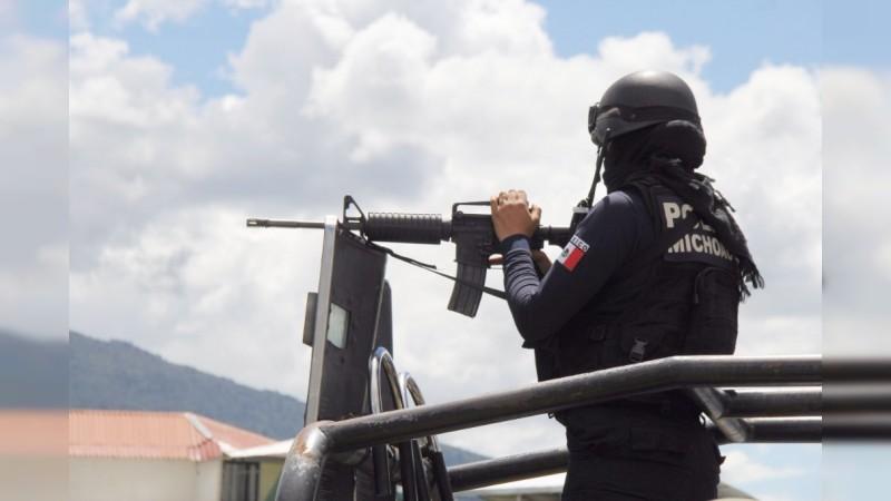 Detienen en una semana a 77 presuntos delincuentesen Michoacán