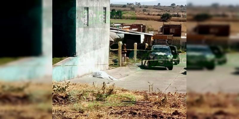 Asesinan a quincuagenario en La Piedad, Michoacán