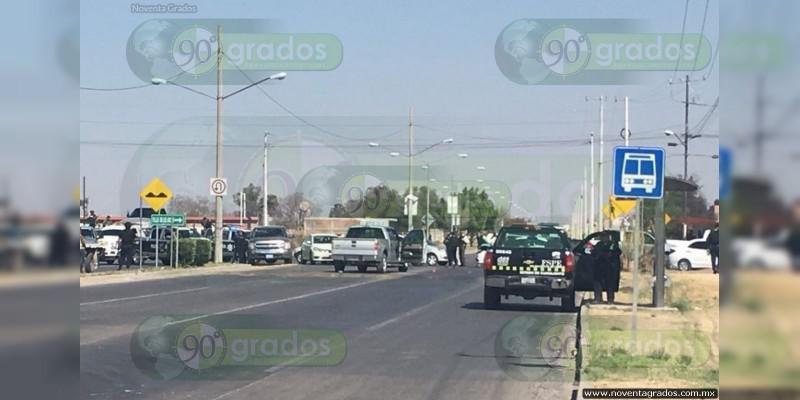 Confirma PGJE 5 heridos en ataque a ministeriales en Celaya, Guanajuato