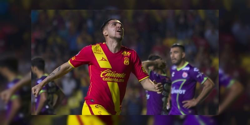 Monarcas Morelia ya es sub líder del campeonato