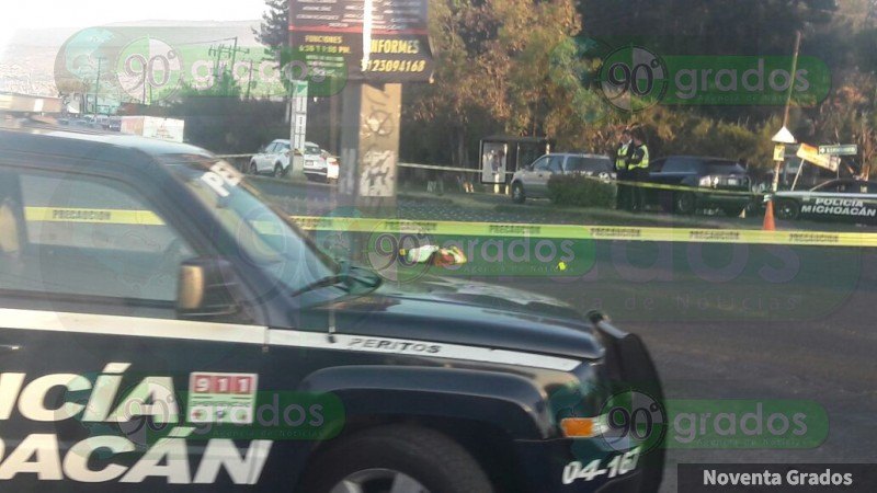 Atropellan y matan a mujer en Morelia, Michoacán