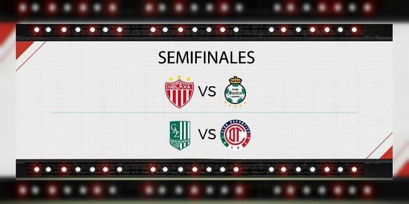 Quedaron definidas las semifinales dentro de la Copa MX