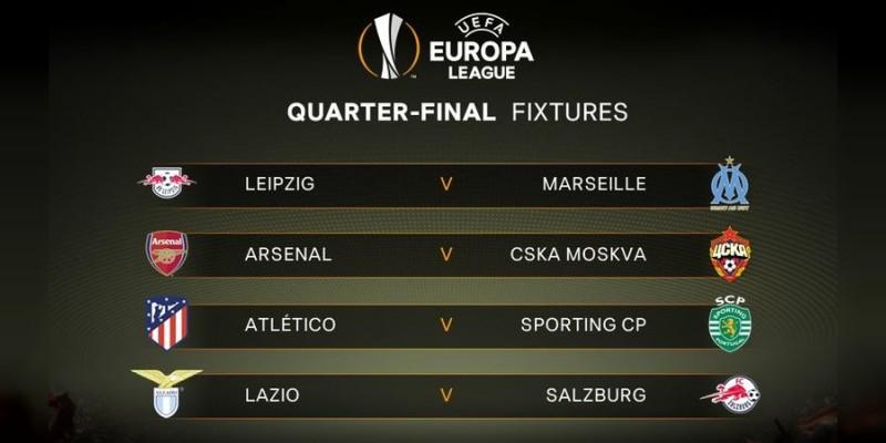 Quedaron definidos los cuartos de final dentro de la Europa League