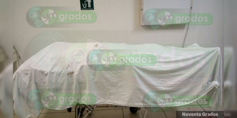 Motociclista baleado en Zacapu muere en hospital