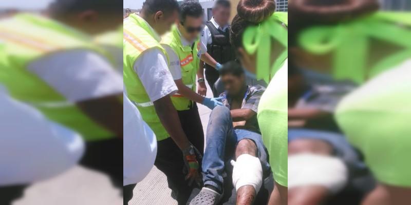 Detienen a uno tras ataque a balazos en Villas de Oriente, en Morelia