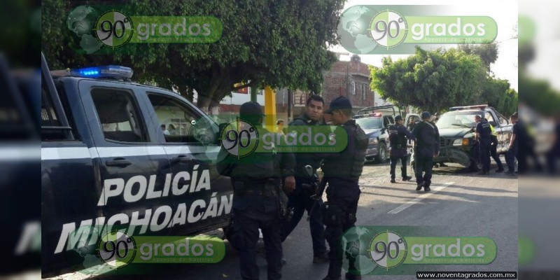 Chocan patrulla y vehículo en persecución en Zamora, Michoacán