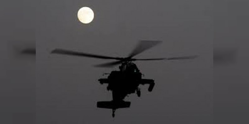 Helicóptero de la Marina disparó indiscriminadamente contra la población en Tepalcatepec, denuncian