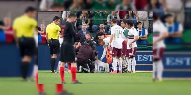 Apesar de la lesión, Néstor Araujo estaría en el Mundial