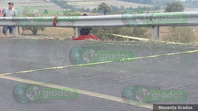 Niño muere atropellado en la carretera a Cherán, Michoacán