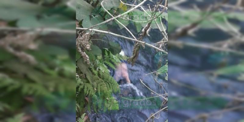 Muere ahogado un hombre en río de Uruapan, Michoacán