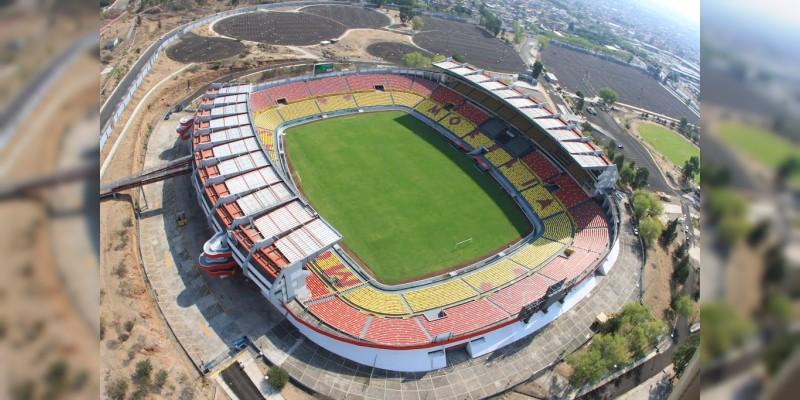 Estadio Morelos, a 29 años de su inauguración
