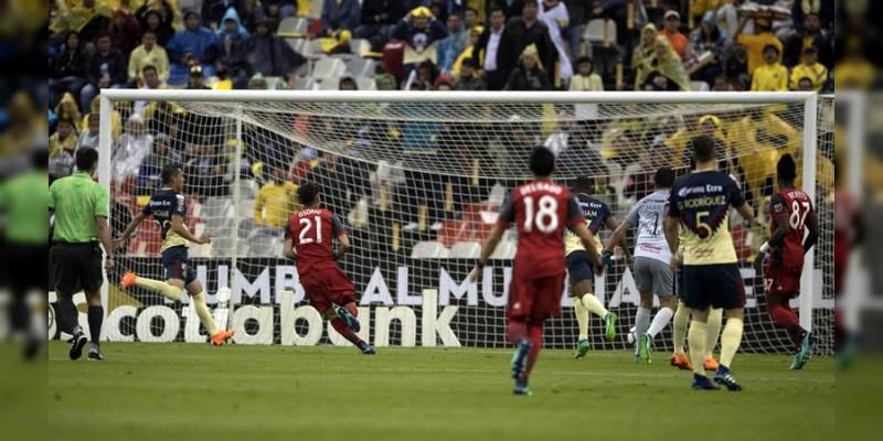 América no pudo con el Toronto, y arruinó final mexicana