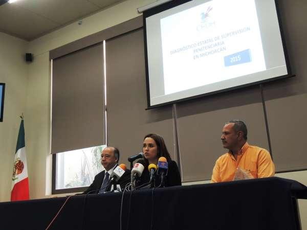 CEDH Michoacán da a conocer resultados de evaluación a centros penitenciarios