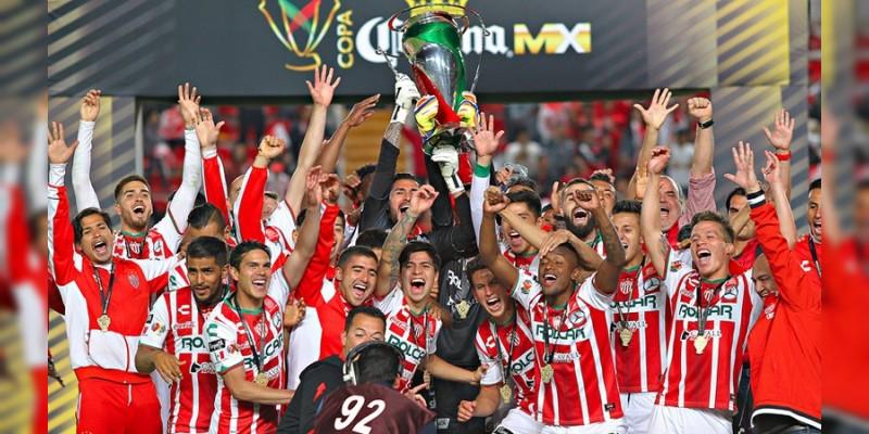 Necaxa se corona Campeón de la Copa MX