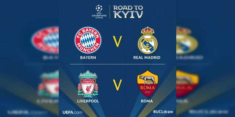 Quedaron definidas los semifinales de la Champions League