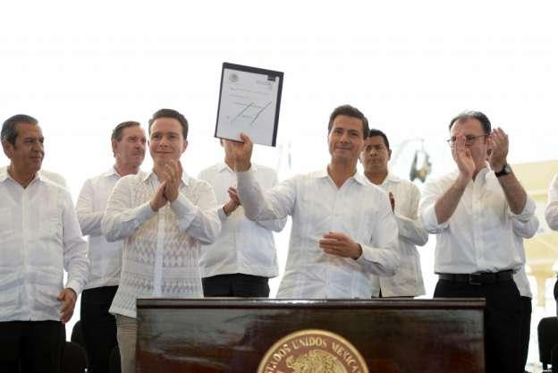 Presenta Enrique Peña Nieto iniciativa de zonas económicas especiales