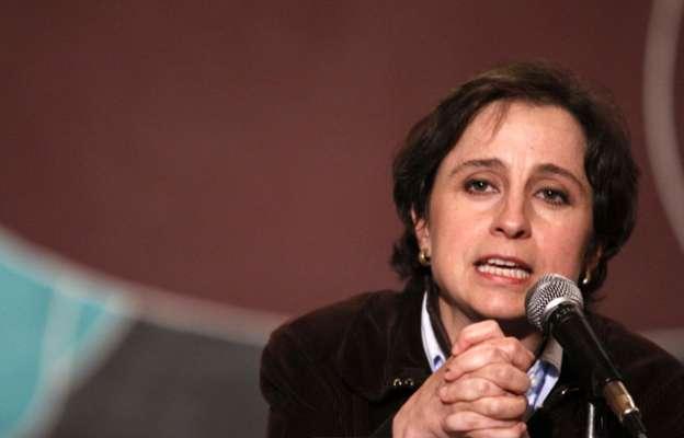 Carmen Aristegui demandará a México ante la CIDH