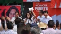 Los de 'enfrente', convencidos que en el PRI están las mejores propuestas: Xochitl Ruiz