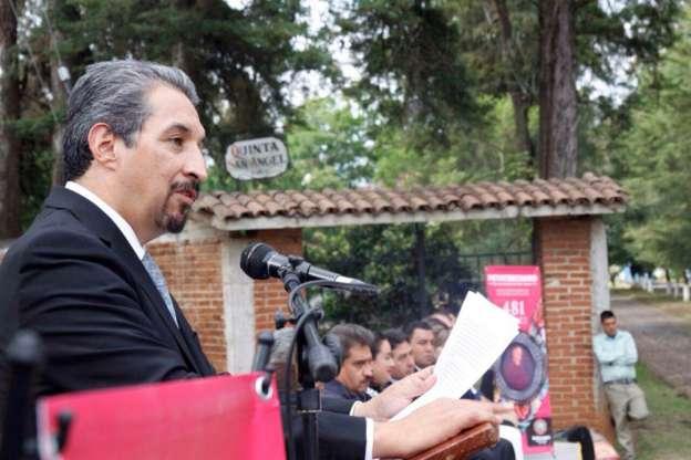 Llama Medardo Serna a construir una nueva era inspirada en los Sentimientos de la Nación