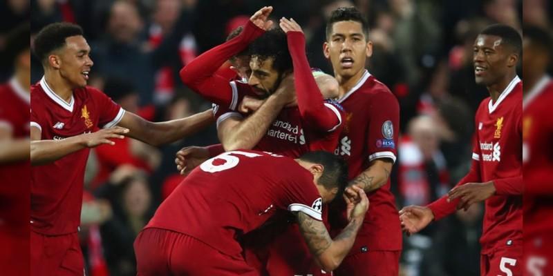 Liverpool golea a la Roma y se acerca a la Final de Champions League