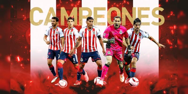 Chivas campeón de la Liga Concacaf