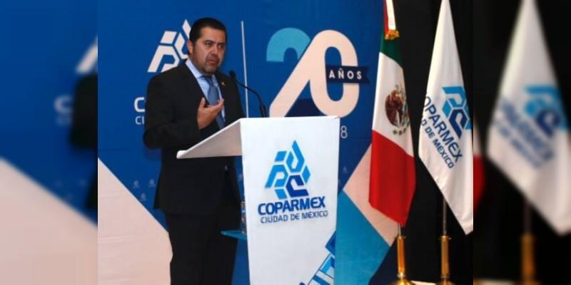 El manifiesto  México busca construir el México que queremos: COPARMEX