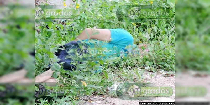 Hallan cadáver baleado en cerro en Cortázar, Guanajuato