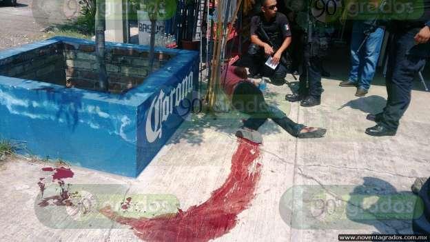 Fuerza Rural agrede a elemento del Ejército en Apatzingán; hay un herido