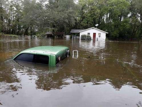 Inundaciones dejan cinco muertos en Carolina del Sur, Estados Unidos