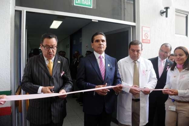 Inaugura Silvano Aureoles remodelación del Centro Estatal de Atención Oncológica