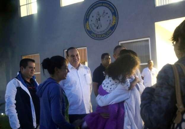 Localizan en Querétaro a niña de dos años secuestrada en Uruapan, Michoacán