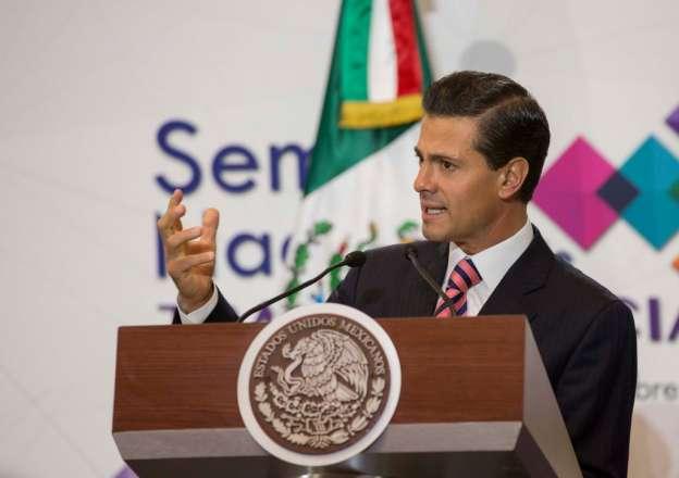 Inaugura Enrique Peña Nieto la Semana Nacional de Transparencia 2015