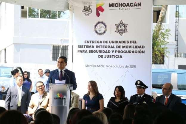 En seis meses estará conformada la nueva Policía Estatal: Silvano Aureoles