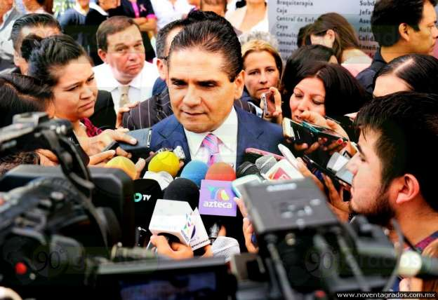 Requerimiento de funcionarios de Seguridad Pública no quiere decir que sean culpables: Silvano Aureoles