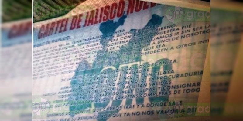 "Cartel Jalisco, responsable del asesinato de Policías en Irapuato: ""Vamos a estar al 2x1"", amenaza"
