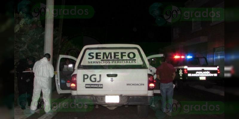 Localizan cadáver baleado en Zamora, Michoacán