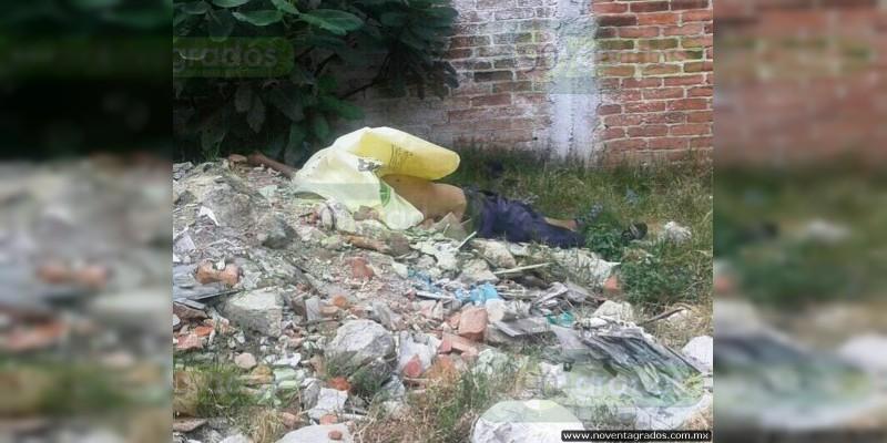 Abandonan a encostalado en Nezahualcóyotl, Estado de México