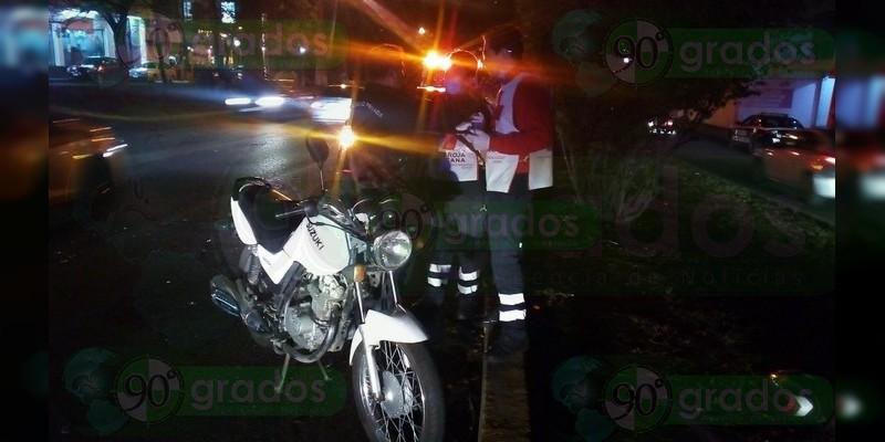 Atropellan a motociclista en la avenida Camelinas de Morelia