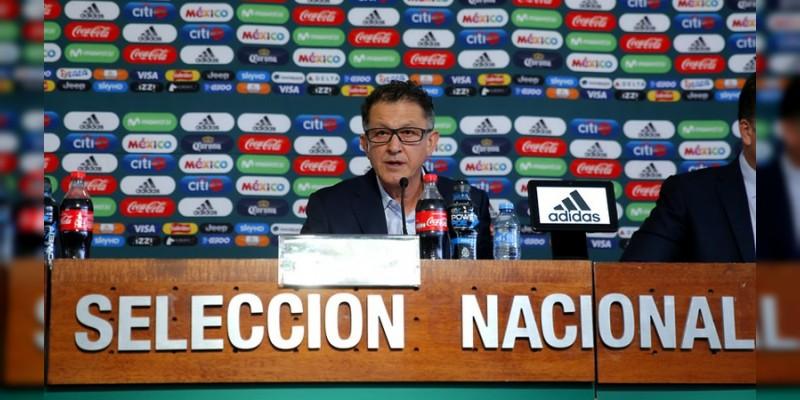 Anuncian la lista de la Selección Mexicana para el Mundial de Rusia