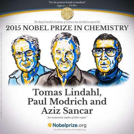 Descubridores de los métodos de reparación del ADN ganan el Premio Nobel de Química