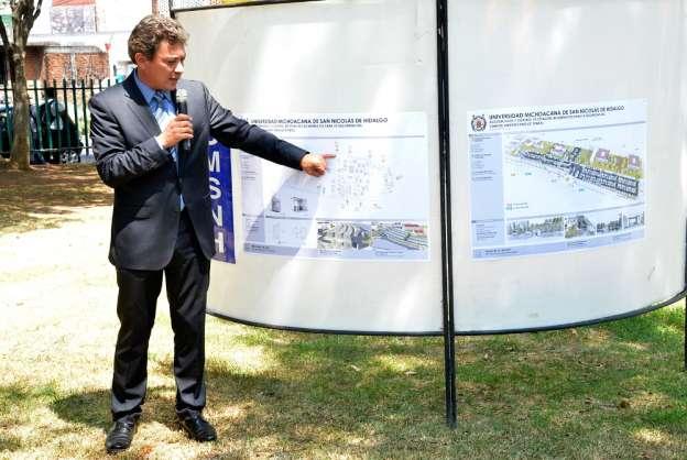 Ciudad Universitaria de la UMSNH tendrá control de acceso peatonal y vehicular