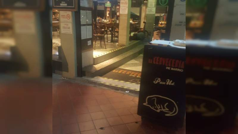 Balacera en La Cervecería de Barrio deja al menos dos heridos