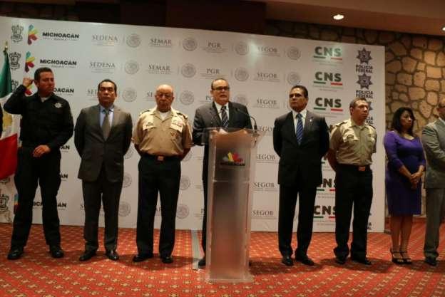 Grupo de Coordinación Michoacán anuncia primeros resultados en administración de Silvano Aureoles