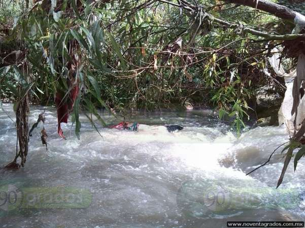 Hallan cadáver flotando en el Río Chiquito de Morelia