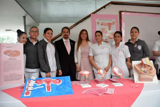 Campaña permanente contra el cáncer en mujeres, anuncia rector de la UMSNH