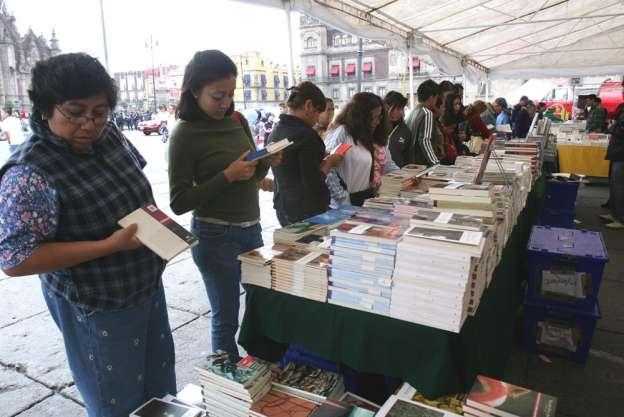 Arranca este viernes la XV Feria Internacional del Libro en el Zócalo